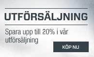 Utförsäljning - 20% rabatt!