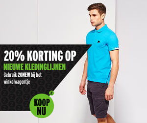 20% op new in