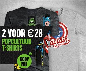 2 voor 28 t-shirts
