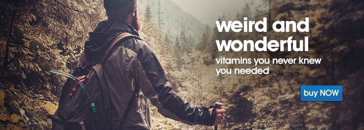 Save 40% off weird and wonderful vitamin at Myvitamins.com