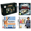 Nintendo DS Lite Black: Bundle (including Professor Layton, Womens Murder Club, Sudoku Master & The ABC Murders)