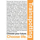 Trainspotting Quotes 1 - Maxi Poster - 61 x 91.5cm