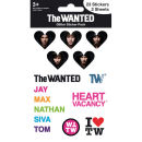 The Wanted I Love (Glitter) - Glitter Sticker Pack