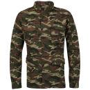 Ringspun Men's Platoon Jacket - Khaki Camo