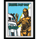 Star Wars Bloop - 8x6 Framed Photographic