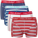 Oiler & Boiler Men's 4 - Pack Boxers - Stars & Stripes
