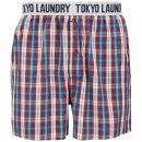 Tokyo Laundry Men's Jack Rabbit Woven Boxers - Red