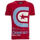 Crosshatch Men's Stargaze T-Shirt - Tango Red