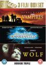 Wolf/Vampires/Frankenstein