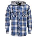 Sonneti Men's DA Hooded Shirt - Blue