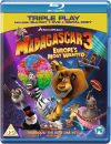 Madagascar 3: Europes Most Wanted - Triple Play (Blu-Ray, DVD and Digital Copy)
