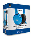 4Gamers PS3 Stereo Gaming Headset - Blue