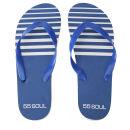 55 Soul Men's Flip Flops - Blue