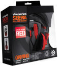 SteelSeries Siberia Full Size Headset - Red