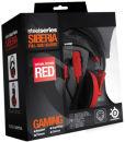 SteelSeries Siberia Full Size Headset - Red