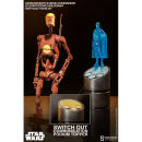 Sideshow Collectibles Star Wars Geonosis Commander Battle Droid and Count Dooku Hologram 1:6 Scale Figure
