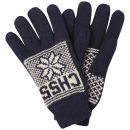 Crosshatch Men's Northstar Gloves - Off White/Navy