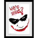 DC Comics Batman The Dark Knight Rises Smile - 30x40 Collector Prints