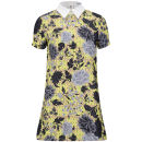 Glamorous Women's Floral Print Collar Dress - Multi