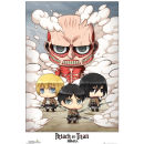Attack on Titan Chibi Group - Maxi Poster - 61 x 91.5cm