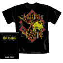 DC Comics Men's Batman Reaching Jump T-Shirt - Black - XXL