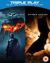 Batman Begins / The Dark Knight - Triple Play (Blu-Ray, DVD y una copia ultravioleta)