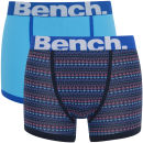 Bench Men's 2 Pack Fashion Trunks - Blue