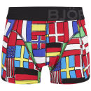 Bjorn Borg Men's Short Shorts - Flags - Lollipop
