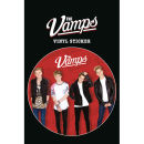 The Vamps Red Vinyl Sticker 10 x 15cm