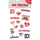 One Direction Hearts - Vinyl Sticker Pack