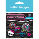 Monster High Graphics - Badge Pack