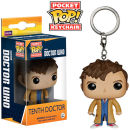 Doctor Who 10th Doctor Pocket Pop! Vinyl Figure Key Chain
