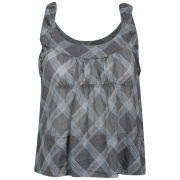 Chloe Women's Criss Cross Vest - Blue