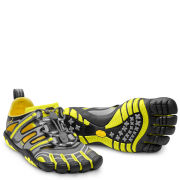 Vibram 5 Fingers Men's Treksport Running Sandals - Grey/Yellow/Black