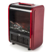 Warmlite Mini Fireplace Heater - Red
