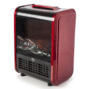 Warmlite Mini Fireplace Heater - Red