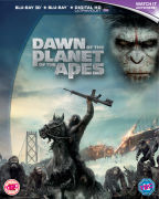 Dawn of the Planet of the Apes 3D (With UV Copy) - Blu-ray - Drama - Action