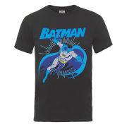 DC Comics Men's T-Shirt - Batman Leap - Charcoal