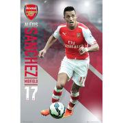 Arsenal Sanchez 14/15 - Maxi Poster - 61 x 91.5 cm
