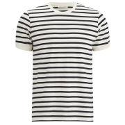 American Vintage Men's Breton Stripe T-Shirt - Navy