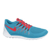 Nike Free 5.0 Trainers - Blue