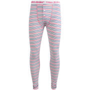 Oiler & Boiler Men's Long Johns - Jet Stripe Blue