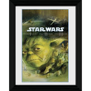 Star Wars Blu Ray Prequel - 30 x 40cm Collector Prints