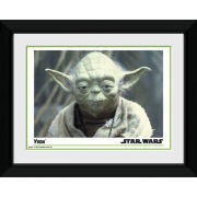 "Star Wars Yoda - 8"""" x 6"""" Framed Photographic"