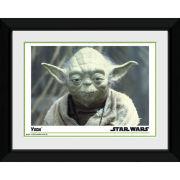"""Star Wars Yoda - 8"""""""" x 6"""""""" Framed Photographic"""