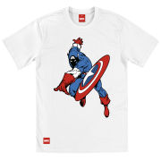 Captain America Men's T-Shirt - Action Shield