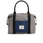 Herschel Strand Duffel Bag - Houndstooth/Navy Polka Dot