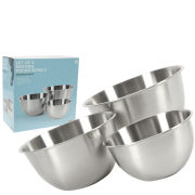Ethos 3 Piece Satin Finish Mixing Bowl Set (17/21/25cm)