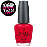 Opi Big Apple Red Nail Lacquer (15ml)