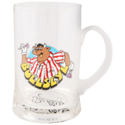Bullseye Tankard Pint Glass